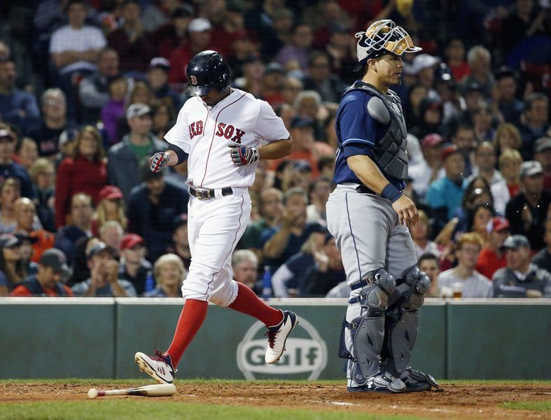 Bats pick up Porcello, Red Sox magic number is 2