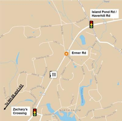 Nh Traffic Map.Dot Traffic Signal Not Needed At Ermer Road Intersection In Salem