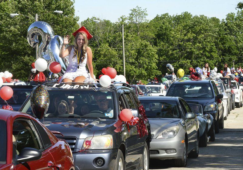 Pinkerton class of 2020 honored with celebration parade