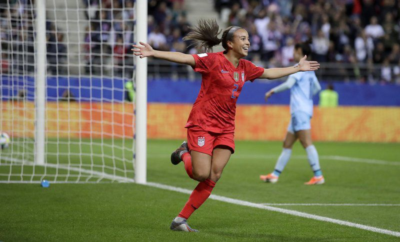 Alex Morgan, US score 13 goals to rout Thailand in World Cup opener