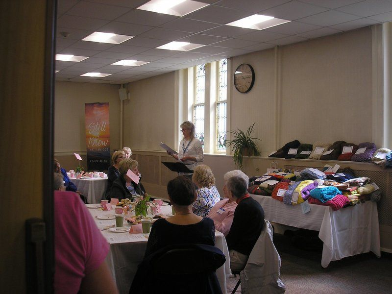 Prayer shawl makers celebrate a ministry of love and compassion