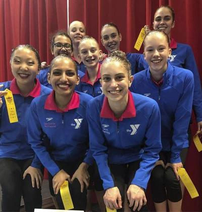 ANA Synchro team nets gold, 4th place finish