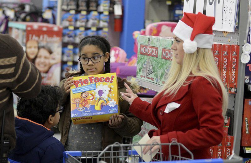 Haverhill youngsters treated to shopping spree