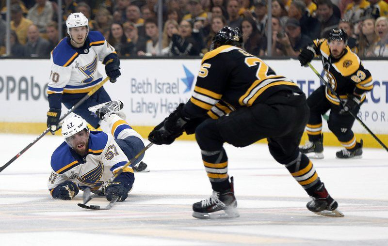 case of the blues Bruins fall to St. Lous in Game 7 the Stanley Cup Final