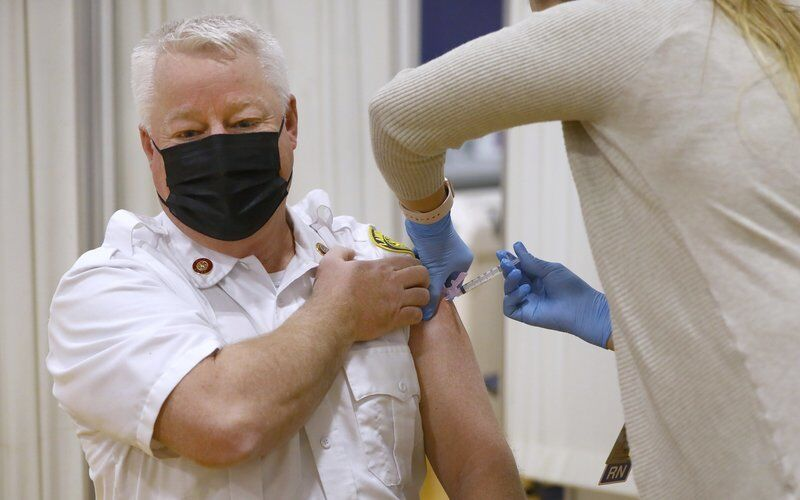 First responders in Lawrence, Haverhill receive COVID-19 vaccines