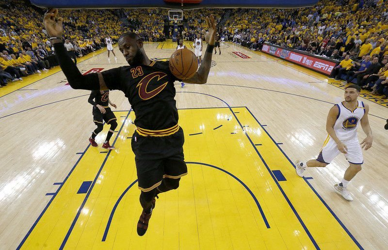 The 'Stay Home' campaign for LeBron James begins