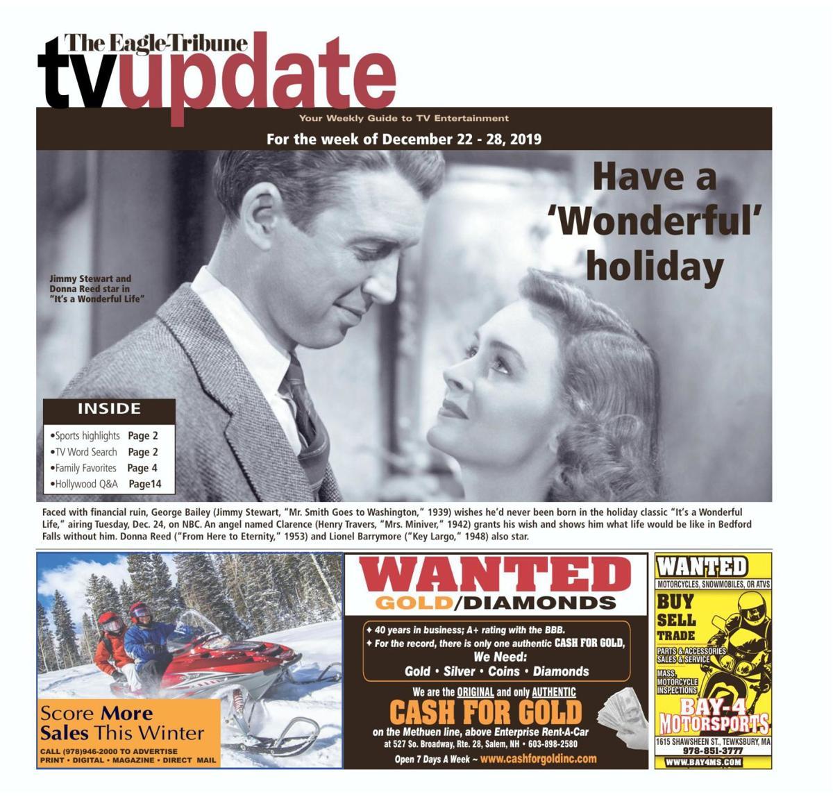 TV Update: Dec. 22-28