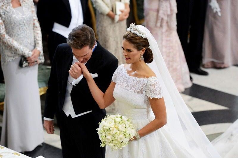 2877c84d8781 Swedish Princess Madeleine weds New York banker   News ...