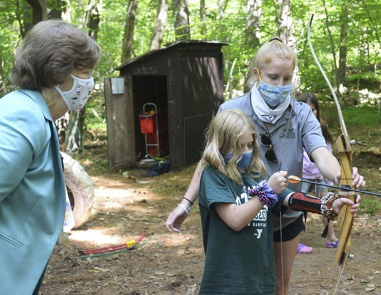 Camps quieter this summer
