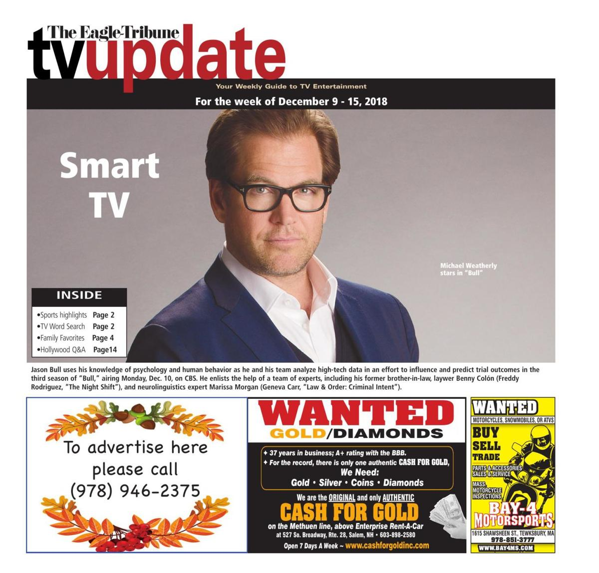 TV Update: Dec. 9-13