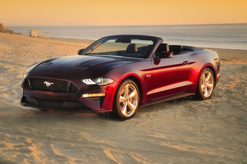 Mustang Convertible And Snow Don T Mix