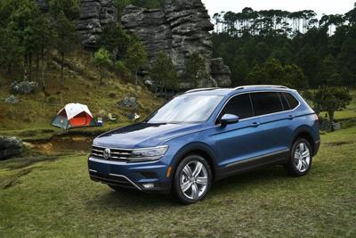 VW Tiguan rides with refinement
