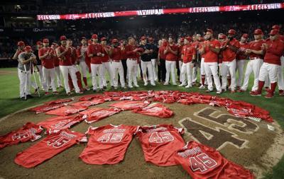 Mason: Emotional no-hitter in memory of Tyler Skaggs felt in Boston, too