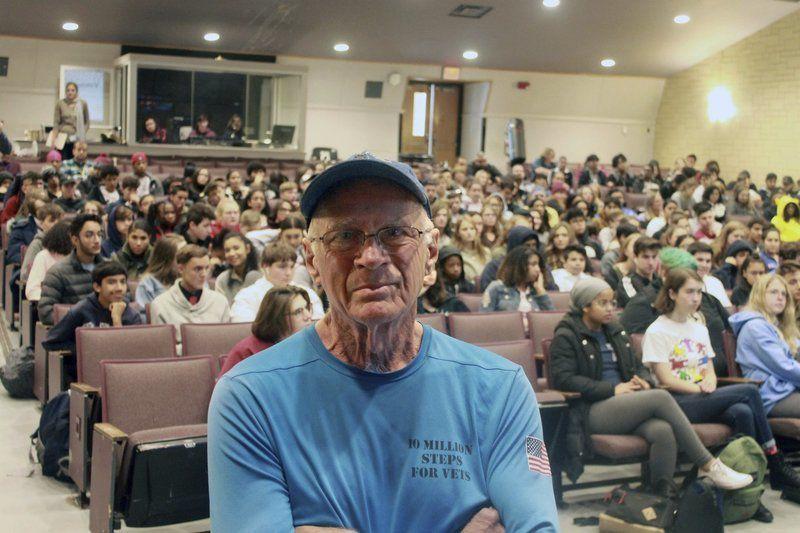 Newburyport man walks across America in support of veterans