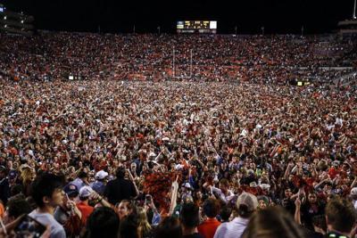 SEC fines Auburn $250,000 after fans rush field