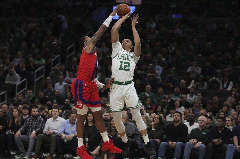 Pistons snap skid against Tatum-less Celtics