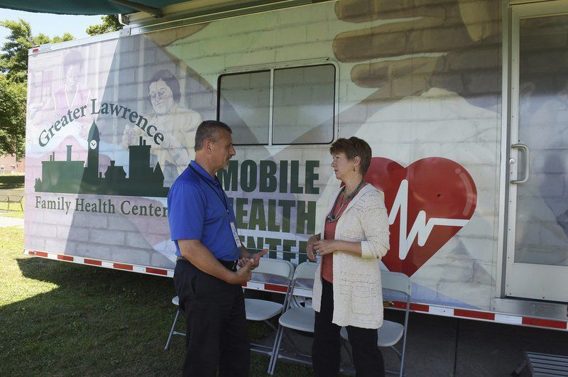 Mobile health clinic comes to GAR Park in Haverhill