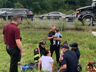 Infant in rollover