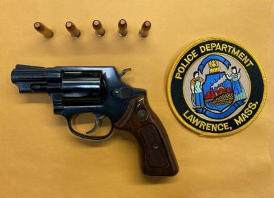 Gun seized as police target violent addresses