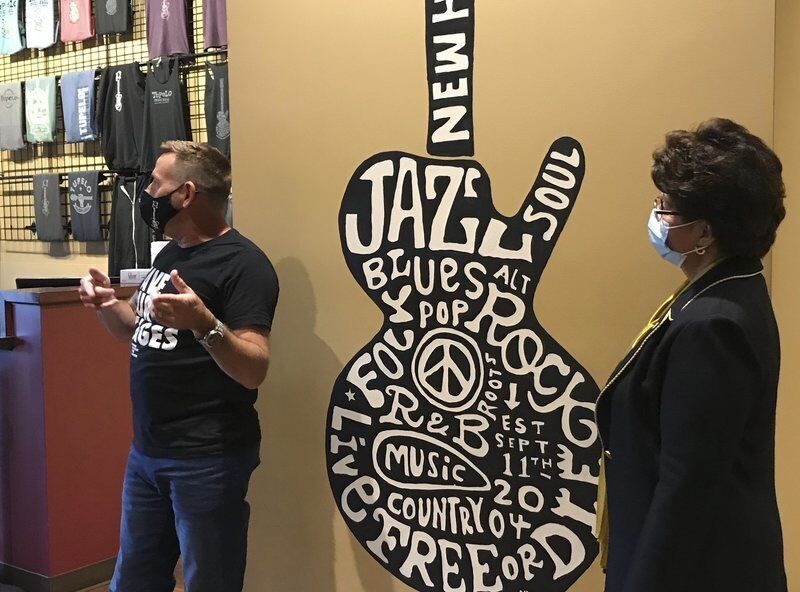 Music venue highlights successes, challenges during SBA visit