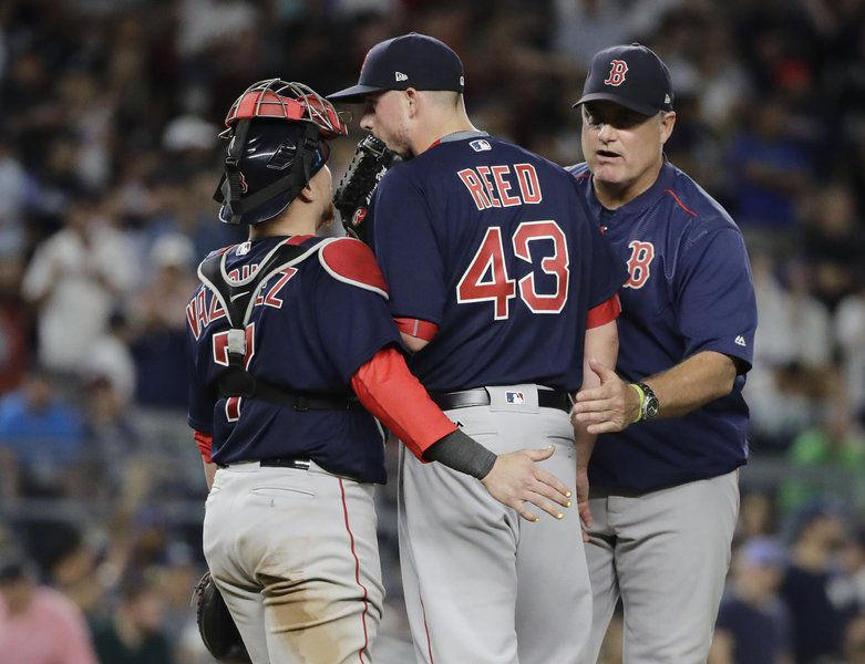 Indians walk off Red Sox