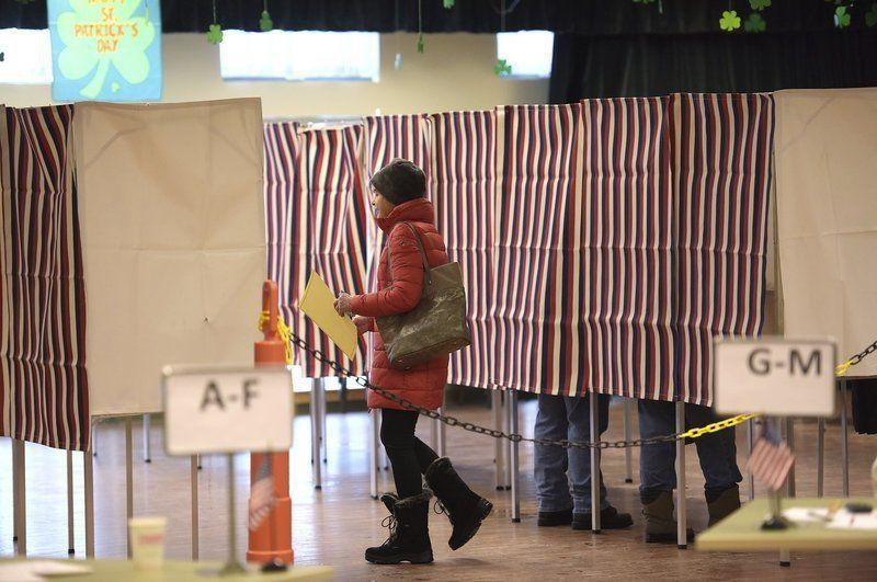Snow excuses: NH Voters head to the polls during multi-day blizzard   News    eagletribune.com
