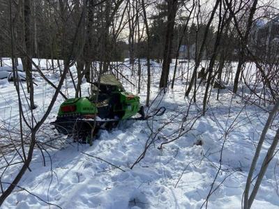Woman, 60, hurt in Pelham snowmobile crash