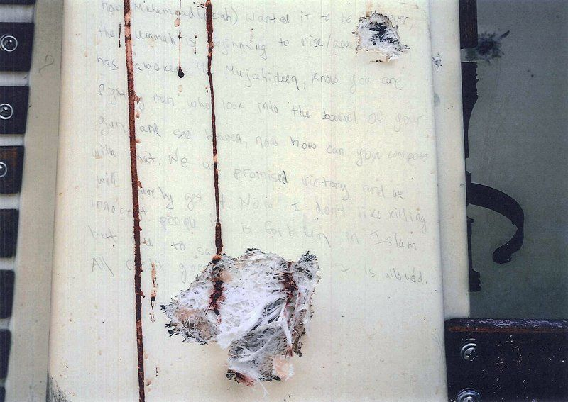 jury in boston bombing trial sees photos of writing in boat news