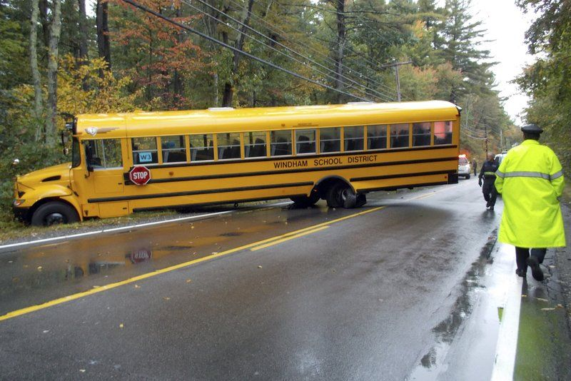 Bus accident leaves two injured | News | eagletribune com