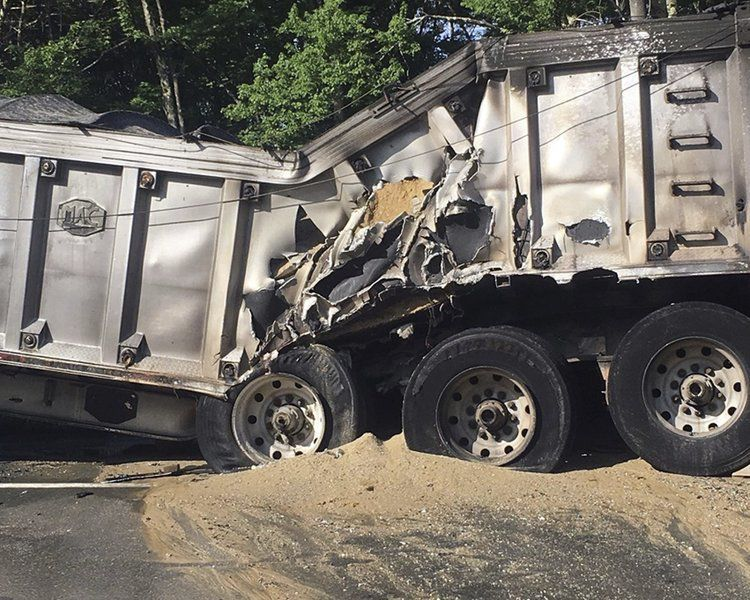 Tractor trailer fire causes delays on I-93 south | News