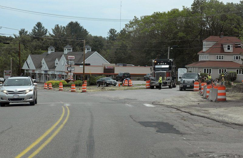 Route 97 work is back on track