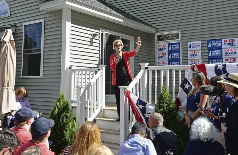 Elizabeth Warren visits Windham