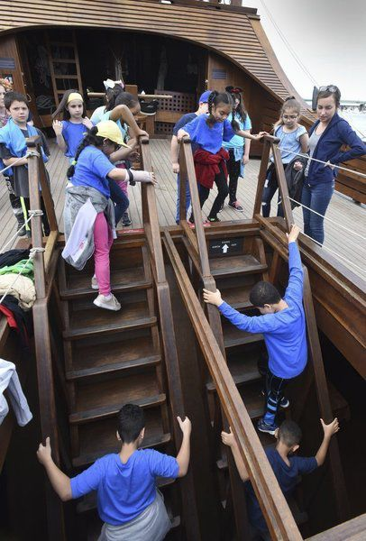 Tall ship tour a thrill for Haverhill students