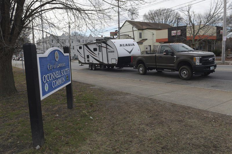 Trailers removed as need for shelter declines