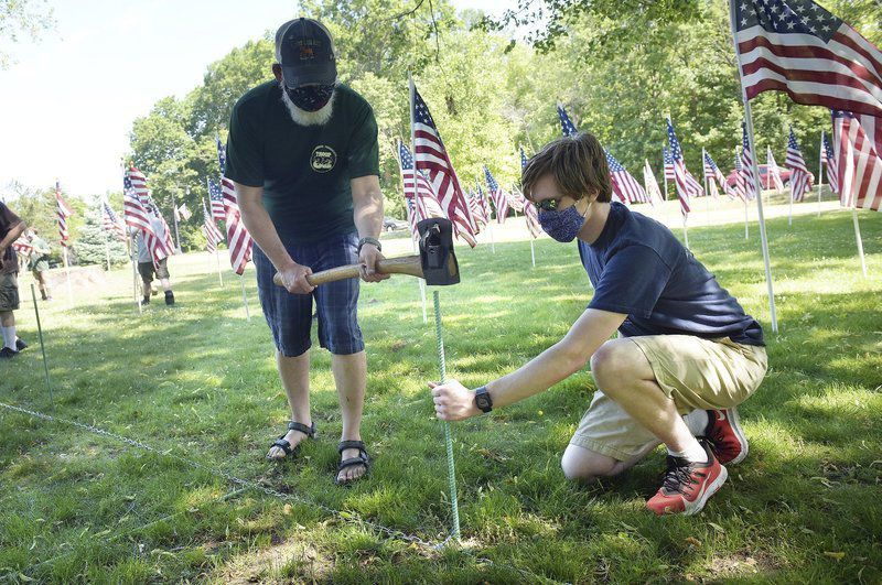 In North Andover, Field of Honor has special meaning this year