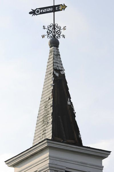 Pelham church steeple hit by lightning firefighters save building pelham church steeple hit by lightning firefighters save building altavistaventures Image collections