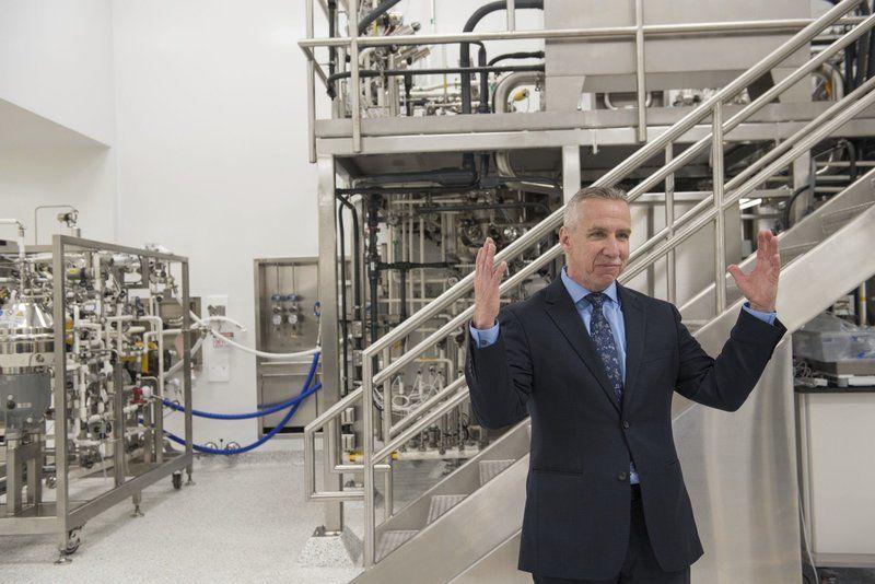 Pfizer Unveils New Manufacturing Facility Merrimack Valley Eagletribune Com