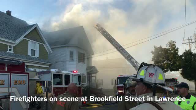 Brookfield Street fire during massive natural gass disaster
