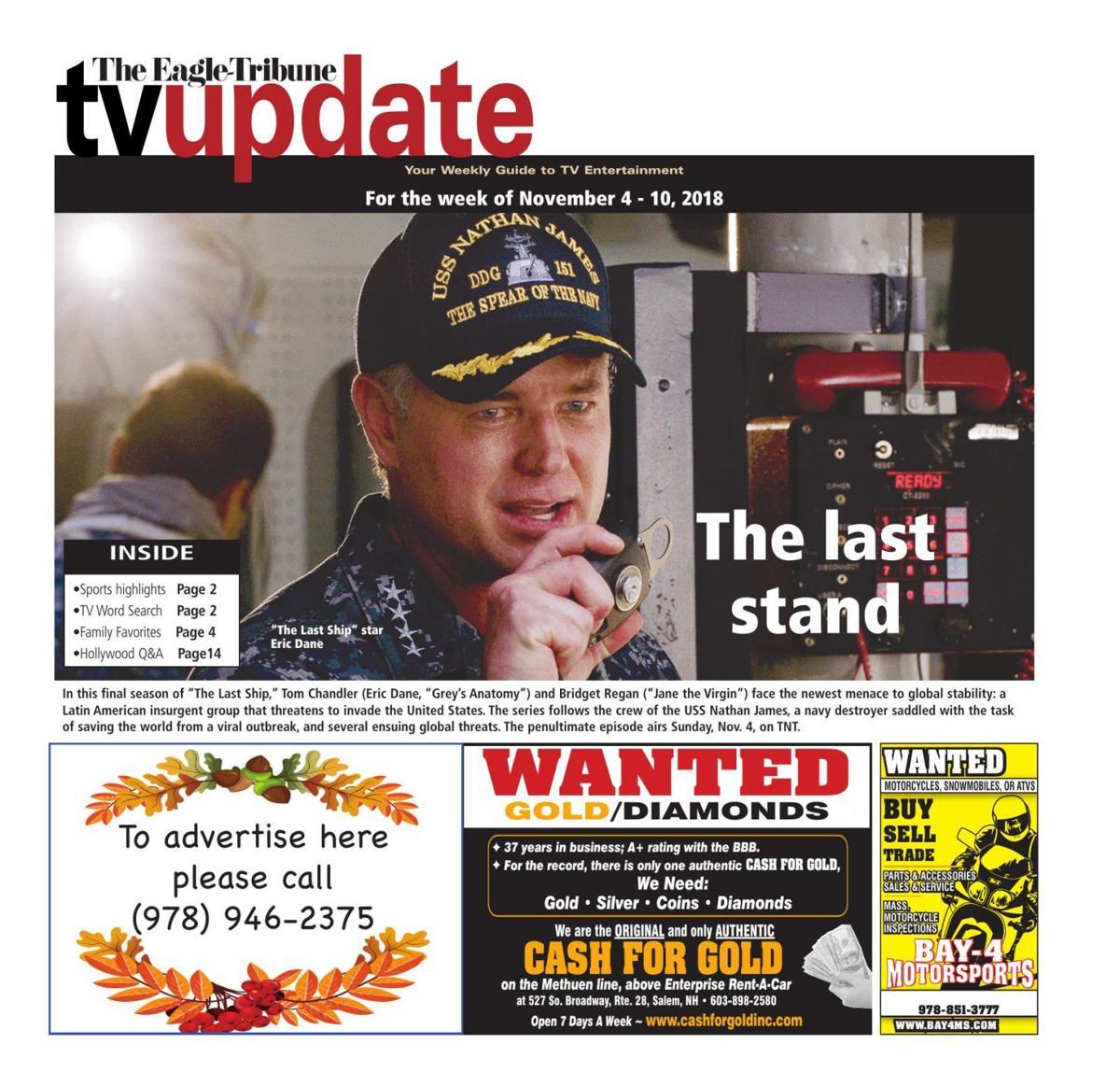 TV Update: Nov. 4-10