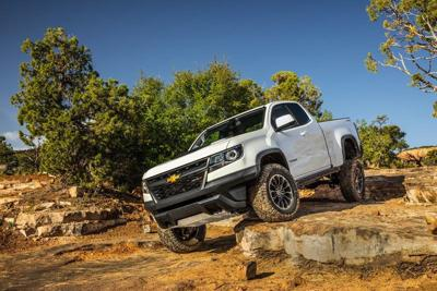 Chevy Colorado works on a smaller scale