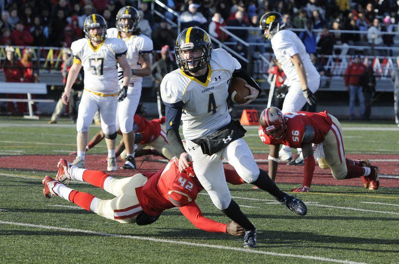 Andover's Perry thrilled for new opportunity with Brown football