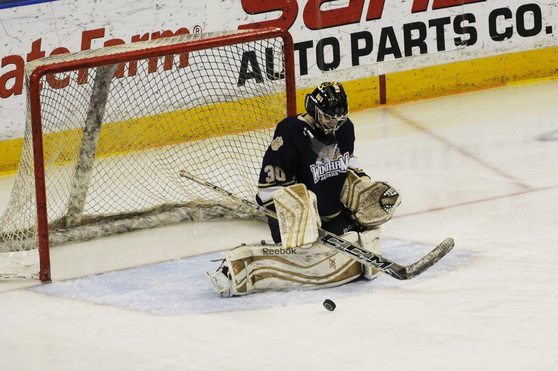 The Daly Show: Already a champion, dominant goalie has Windham dreaming of another title