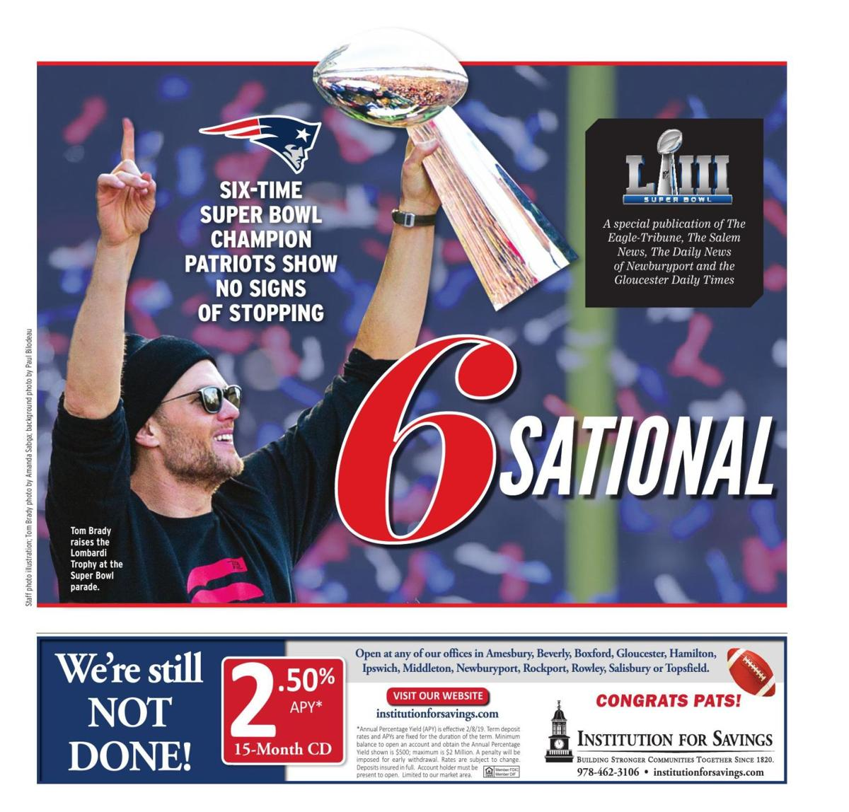 SPECIAL SECTION | Six-time Super Bowl champion Patriots show no sign of stopping