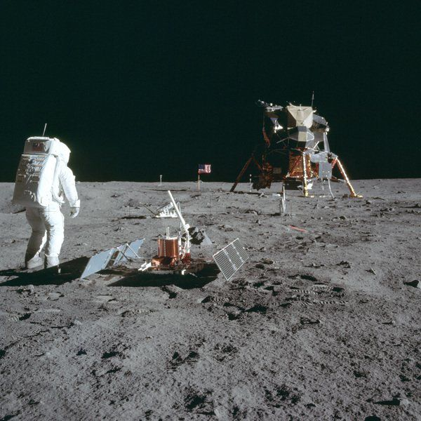 A giant leap for movies: Moon landing turned astronauts into inspiring filmmakers