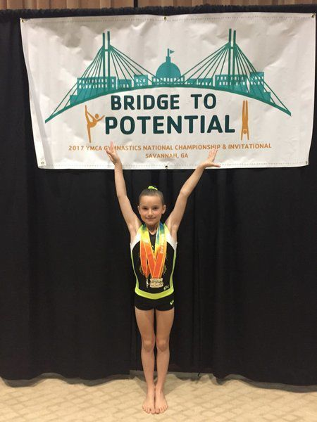 YMCA Gym Stars excel at national meet