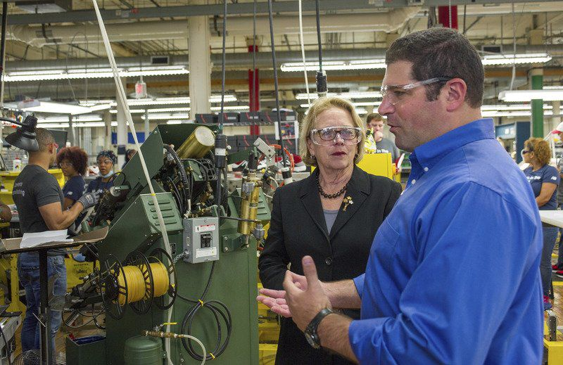 Battle Over Trade Reaches New Balances Factory Floor