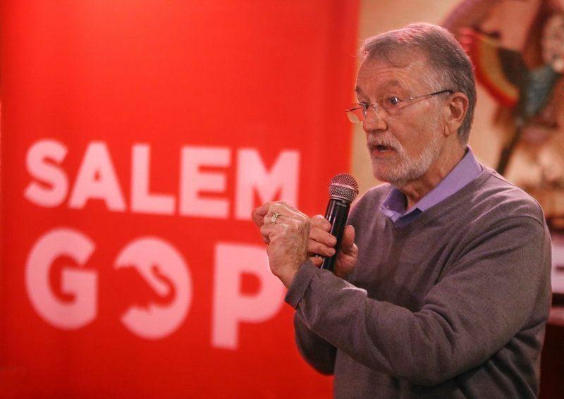 Senate candidate speaks to Salem GOP