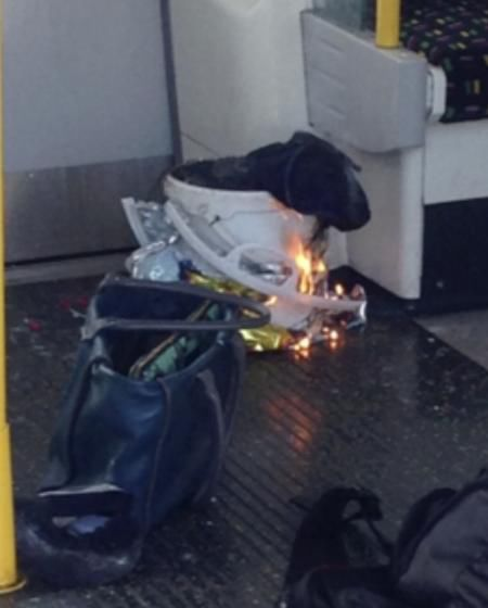 Tube Train Blast In London