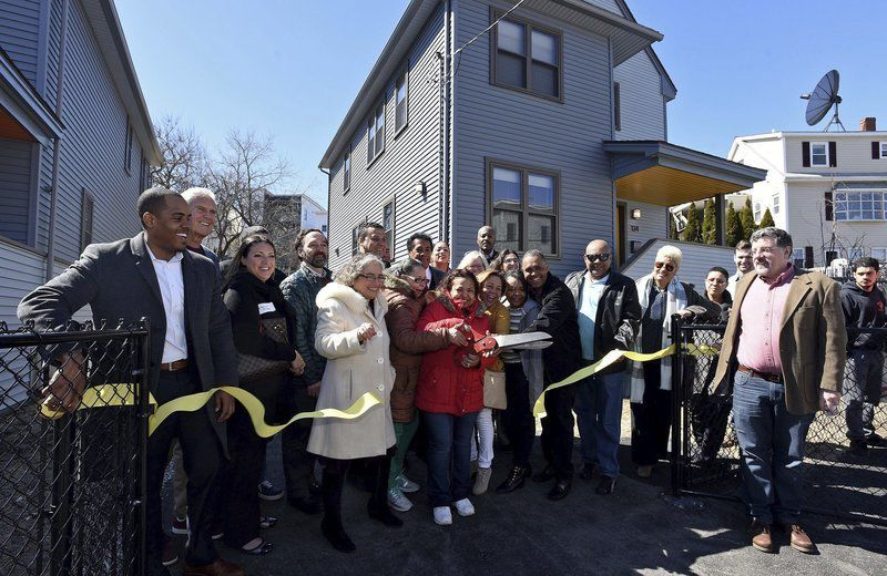 Dreams realized as families see their new homes