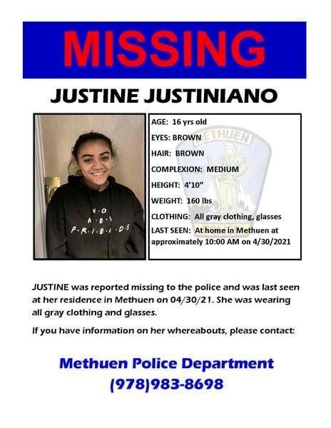 Methuen police search forrunawayteens